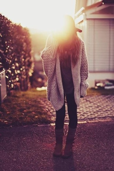cute oversize tumblr cardigan vintage hipster oversized cardigan fall outfits