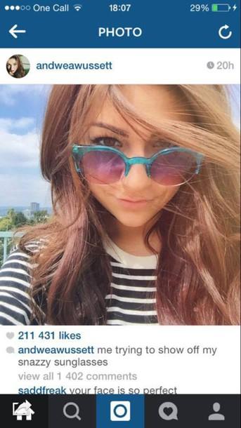sunglasses blue sunglasses