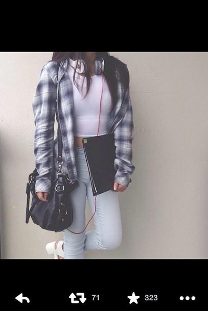 shoes jeans t-shirt