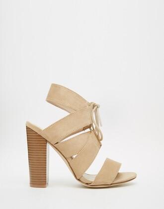 shoes heels nude beige summer