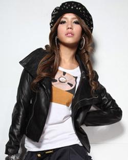 Us$159.00 : lizfelice fashion online store, celebrity, designer, vintage, leather jacket
