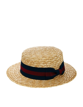 ASOS | ASOS Straw Boater Hat at ASOS