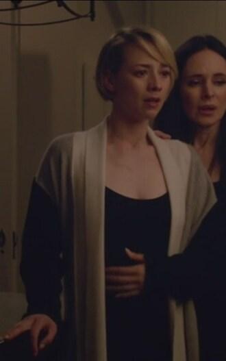 pajamas colorblock robe revenge cashmere margaux lemarchal karine vanasse