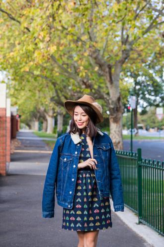 k is for kani blogger jacket dress shoes socks hat