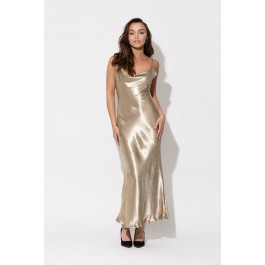 Meryl Maxi Gold Dress