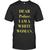 dear police white woman t-shirt - teenamycs