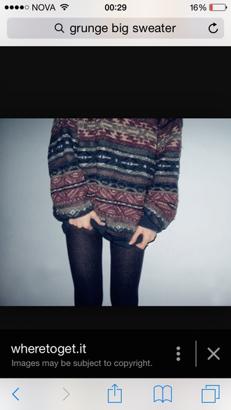 sweater style knitted sweater