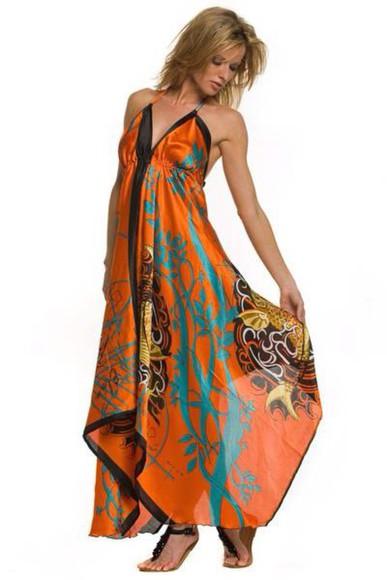 dress floral dress hawaiian