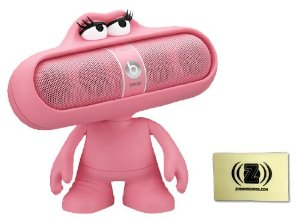 Amazon.com: Beats by Dr. Dre Pill 2.0 Wireless Portable Speaker System (Nicki Pink) Bundle with Pink Pill Character Stand and Zorro Sounds Cleaning Cloth: MP3 Players & Accessories