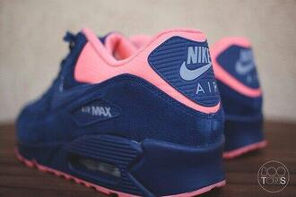 shoes 36 bleu rose air max