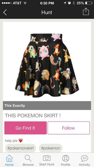 pokemon skirt