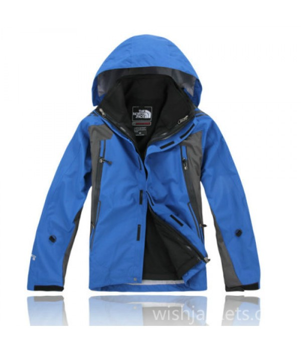 North Face Blue Gore Tex Xcr Jacket Mens Bj130154