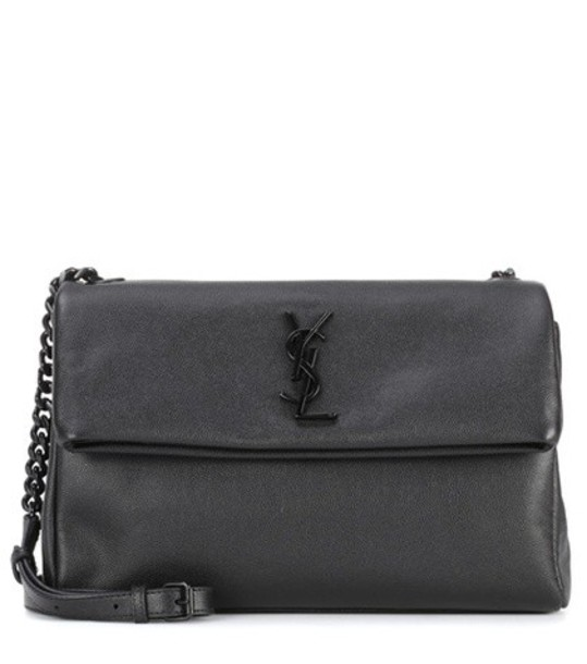 Saint Laurent hollywood bag shoulder bag leather black