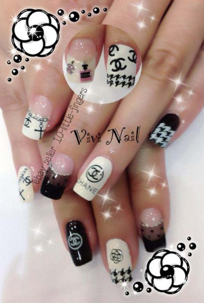 Nail Accessories Nails Glitter Chanel Nail Polish Nail Art