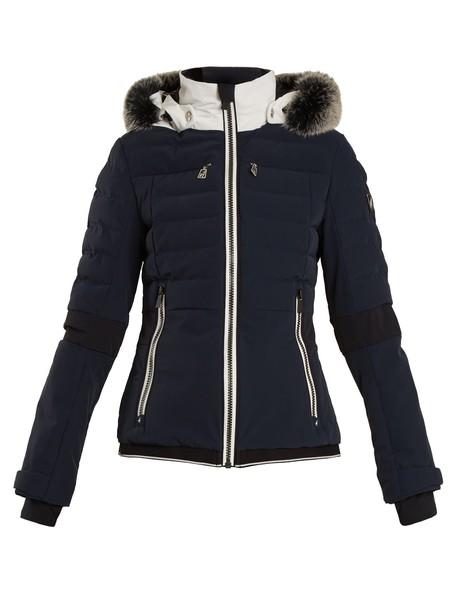 TONI SAILER jacket fur navy