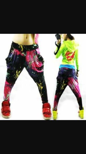 pants dance pants