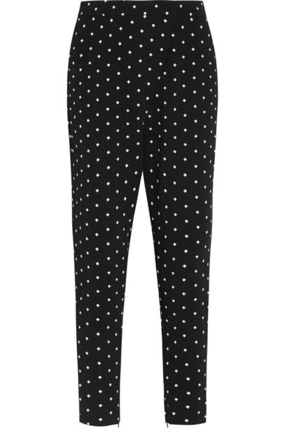 Givenchy pants cross print black