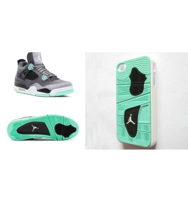 shoes mint retro jordans phone cover phone cover