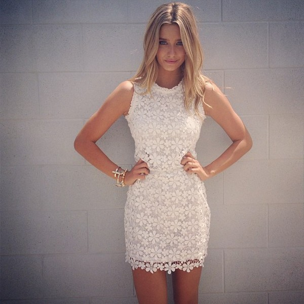 dress lace dress white dress white lace dress