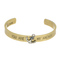 Wholesale burnished gold cuff bracelet stamped my anchor