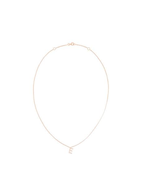 Alinka rose gold rose women necklace gold grey metallic jewels