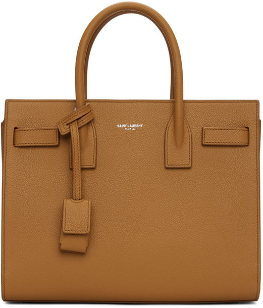 Saint Laurent baby brown bag