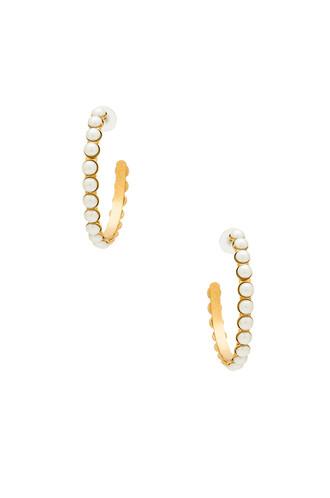 earrings metallic gold jewels