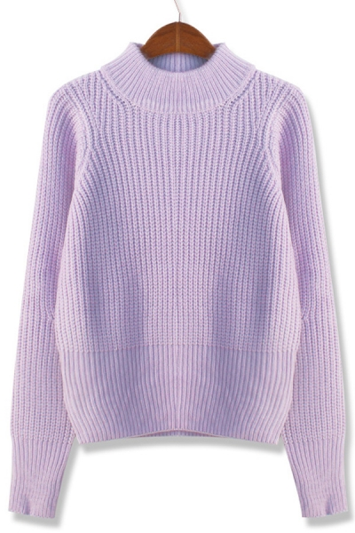 Fireside High Neckline Sweater - OASAP.com