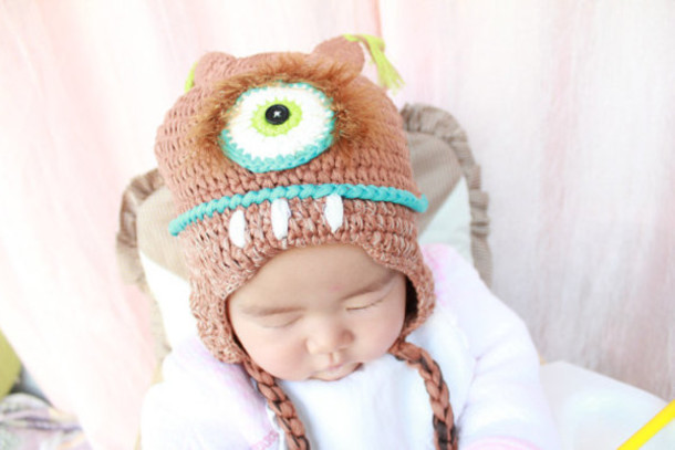 knitwear animal baby character hats mean alien hat kids fashion guys  boy girl baby clothing 0b0ad3ed3db