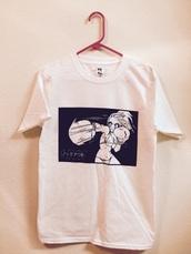 shirt,anime,harajuku,kawaii,cartoon,manga top,japanese