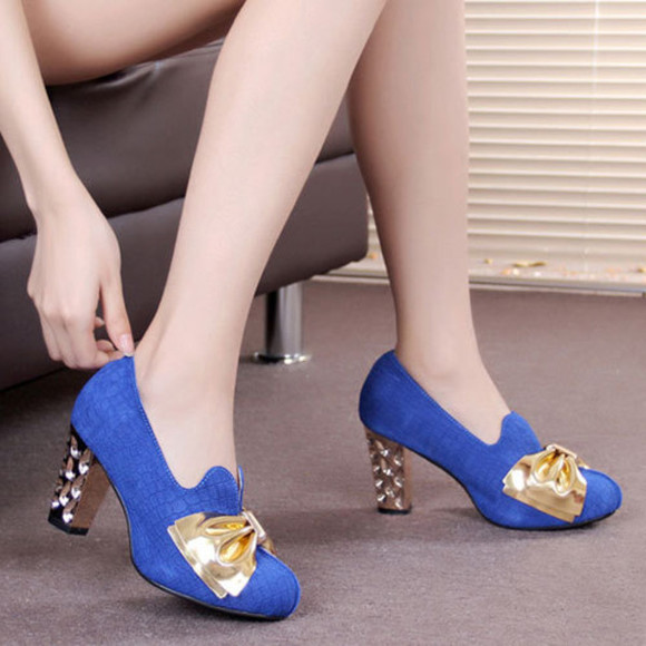 shoes pump heel platform high