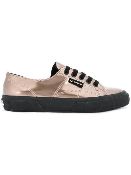 Superga metallic women sneakers grey shoes