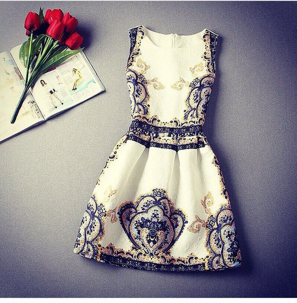 dress peplum style roses gold sequins glitter dress blue dress sequin dress