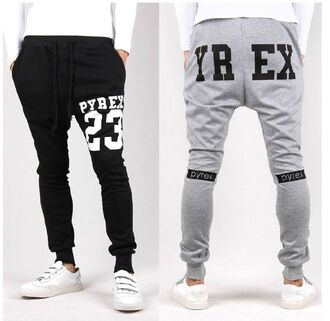pyrex pyrex joggers kanye west sweatpants grey sweatpants mens sportswear menswear dope wishlist