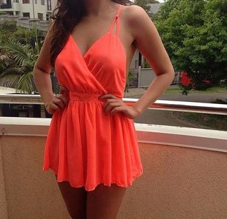 Neon Orange Jumpsuit - Shop for Neon Orange Jumpsuit on Wheretoget