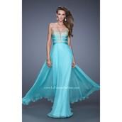 blue dress,strapless,light blue,evening dress,prom dress