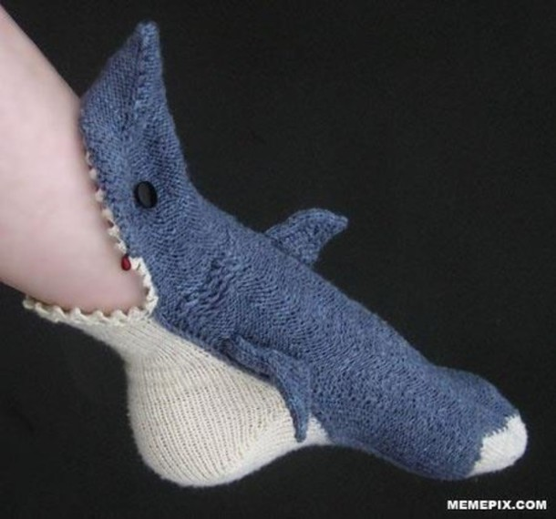 shoes socks shark shorts slippers nitted cute shark socks underwear ssea surf summer winter outfits fall outfits swimwear animal fluffy warm sharks hat cool blue white blue shark socks awsome socks blue socks grey silly