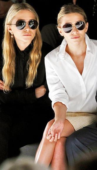 le fashion image blogger sunglasses blouse jewels shirt skirt
