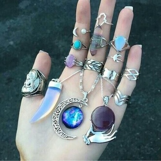 jewels jewelry ring knuckle ring silver ring boho boho jewelry