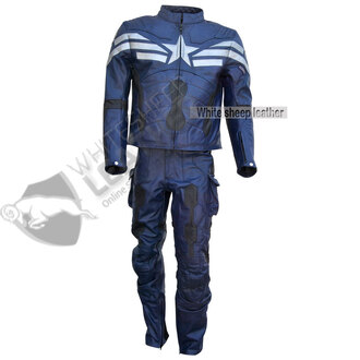 pants winter soldier costume captain america leather costume full captain america cosplay captain america leather suit