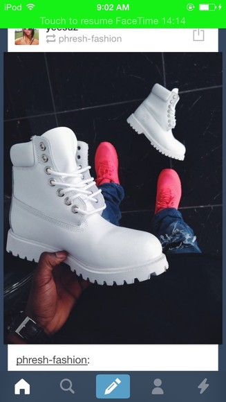 chris brown rihanna shoes dope white streetwear timbs timberlands