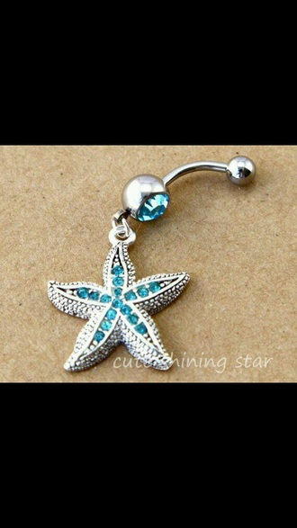 jewels belly ring
