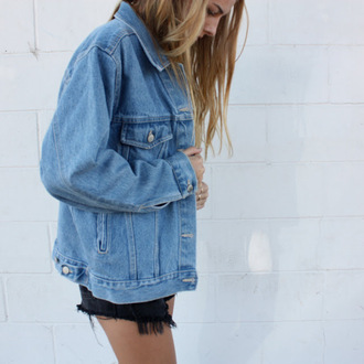 jacket tumblr denim jacket navy blue oversied oversized jackket vintage jacket