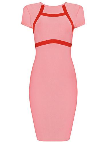 Pink Bandage Dress – Starr Boutique