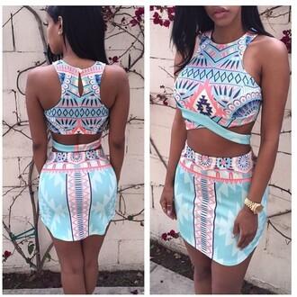dress crop top dress
