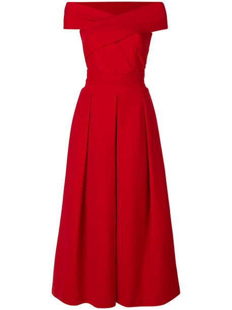 PREEN BY THORNTON BREGAZZI dress women spandex red