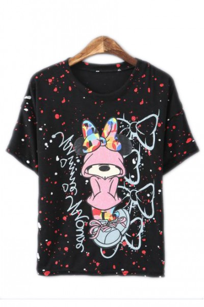 KCLOTH Colorful Mini Mouse Tee