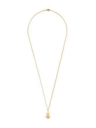 long necklace long metallic women necklace pendant jewels