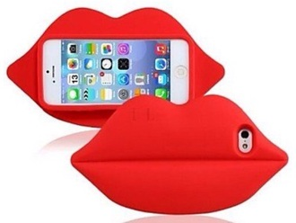 phone cover 3d case red lips samsung galaxy s4 case for samsung s4