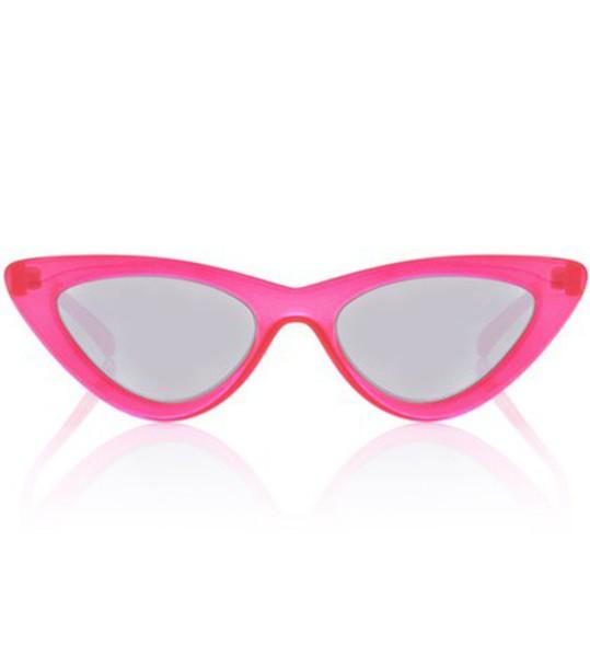 lolita sunglasses red